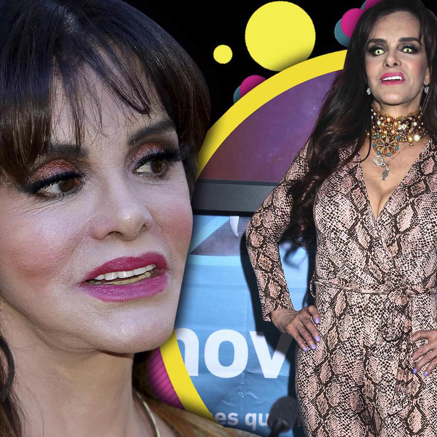 Lucía Méndez telenovela El Extraño Retorno De Diana Salazar