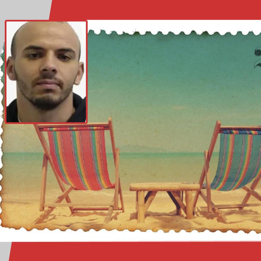 Prisionero envía postal