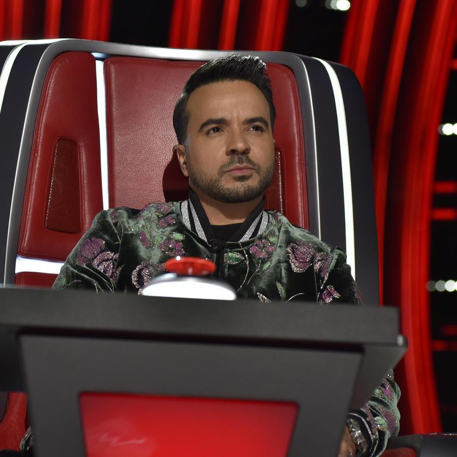 Luis Fonsi en las audiciones a ciegas de La Voz US 2