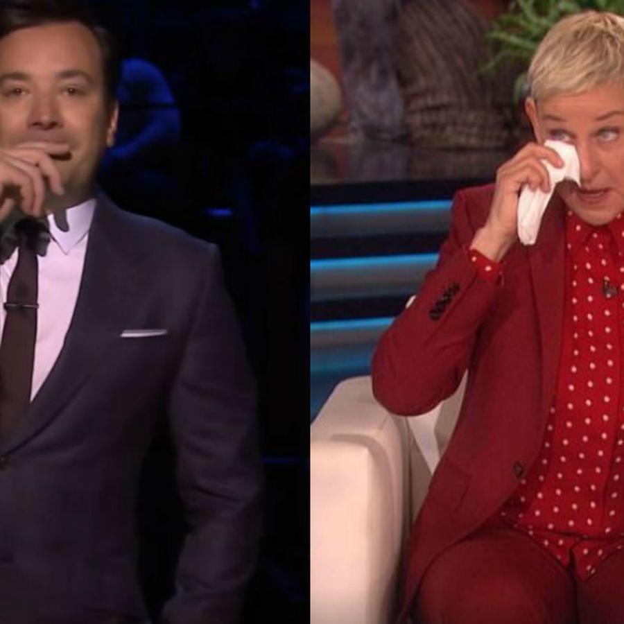 Jimmy Fallon y Ellen DeGeneres