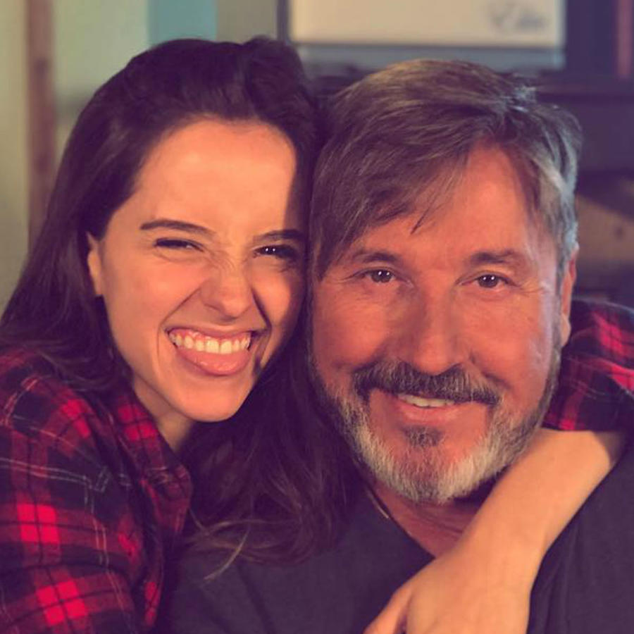 Ricardo Montaner e hija