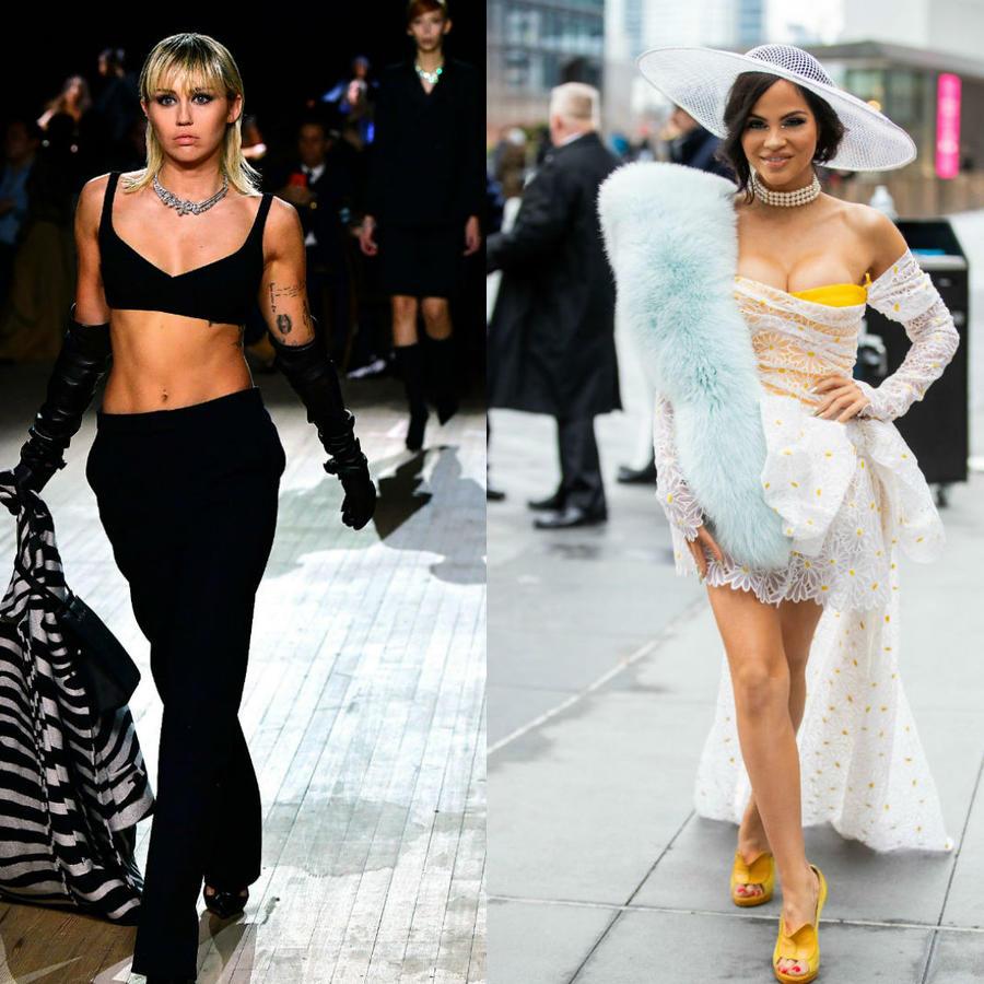 Miley Cyrus, Natti Natasha y Nicki Minaj