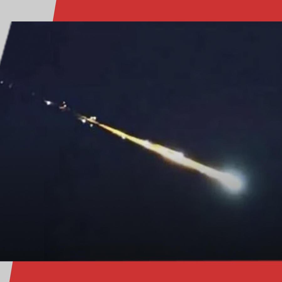 Meteorito en la Ciudad de México