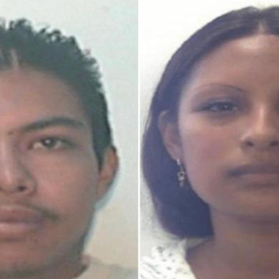Presuntos responsables del feminicidio de la niña Fátima