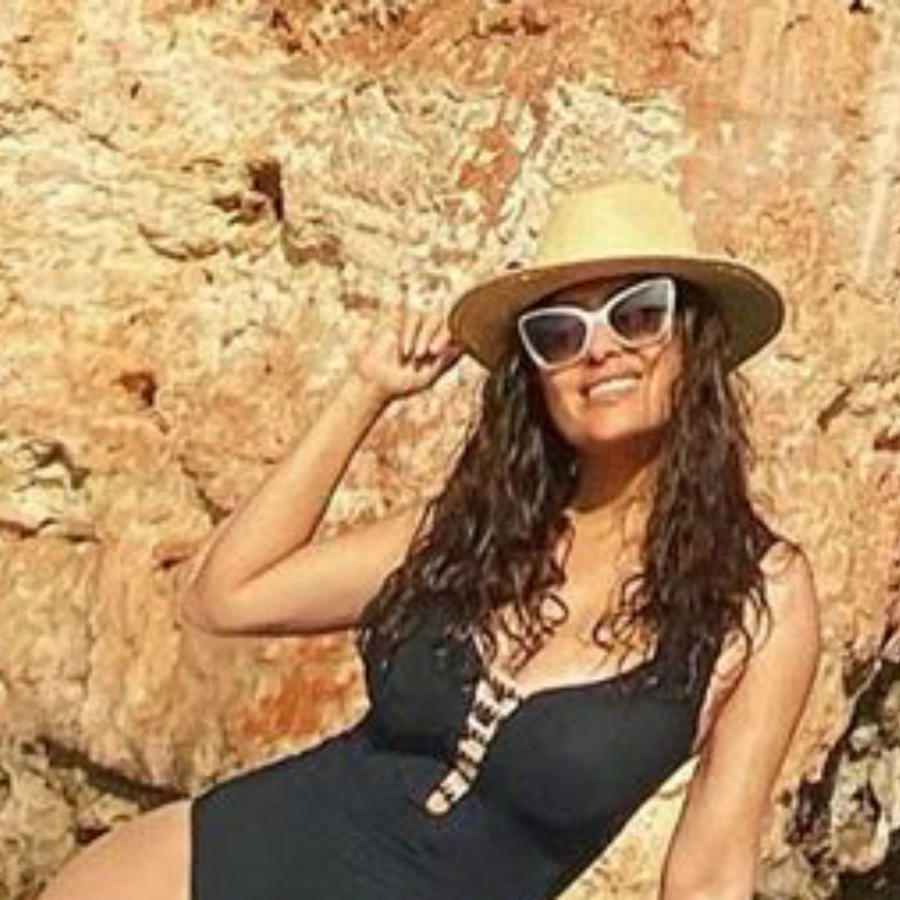 Salma Hayek en traje de baño