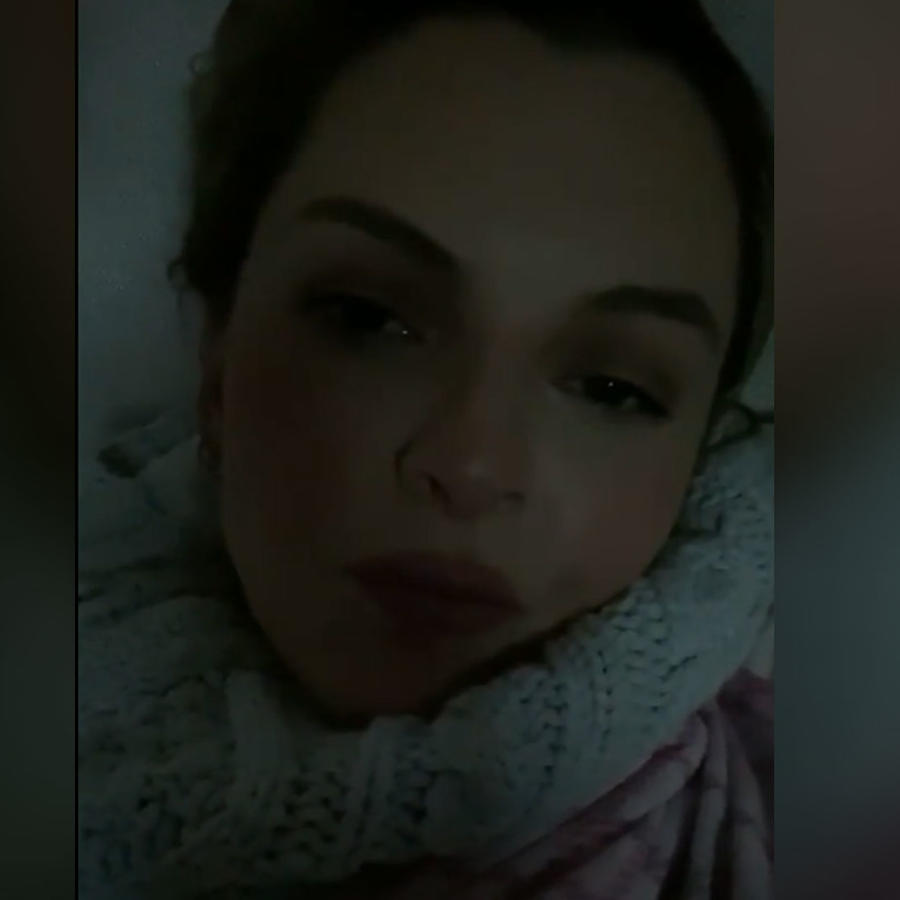 Marjorie de Sousa se reportó enferma