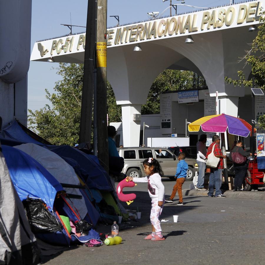 Solicitantes de asilo en Ciudad Juárez