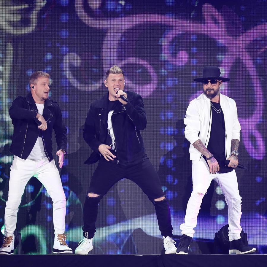 Backstreet Boys en un concierto en 2019 en Nevada