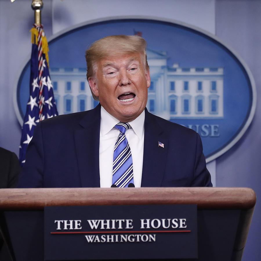 Donald TrumpEl presidente Donald Trump en la Casa Blanca.