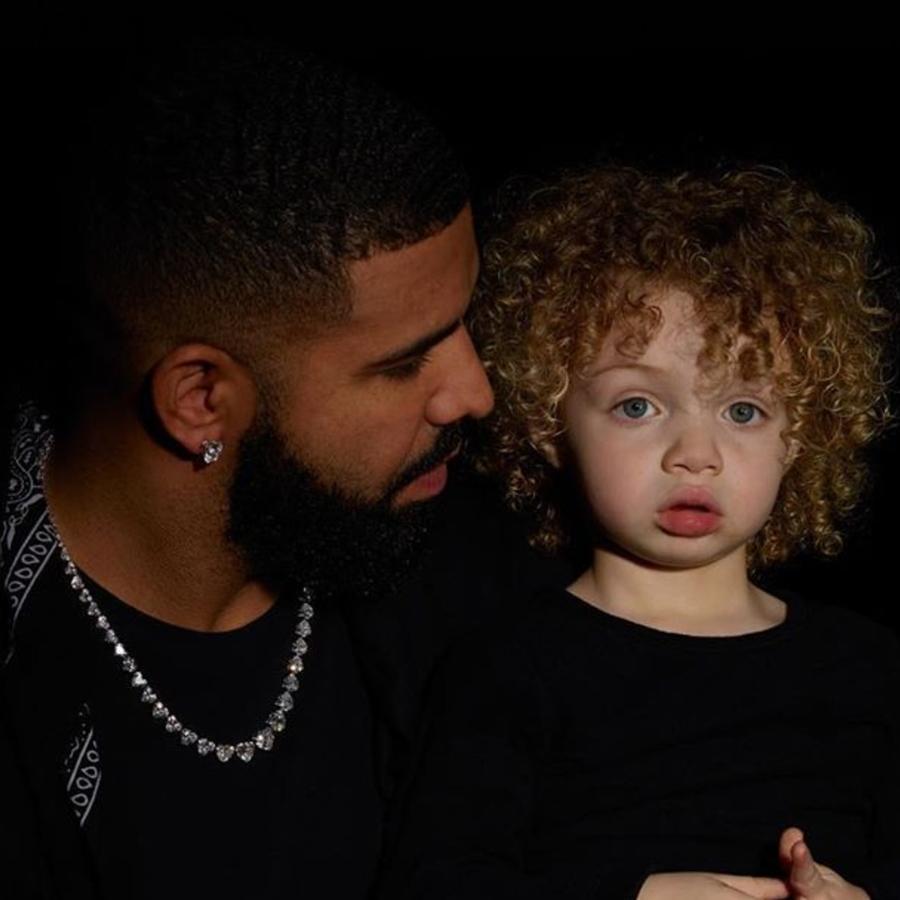 Drake y su hijo