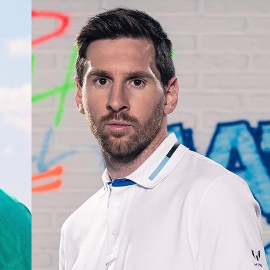 Lionel Messi y Gerard Piqué