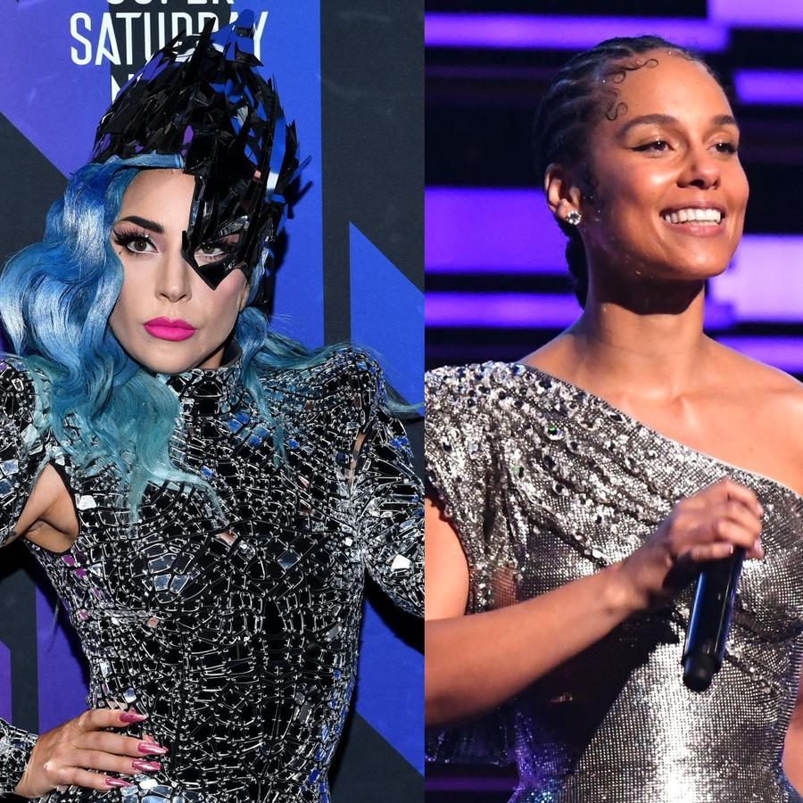 Lady Gaga, Alicia Keys y Enrique Bunbury