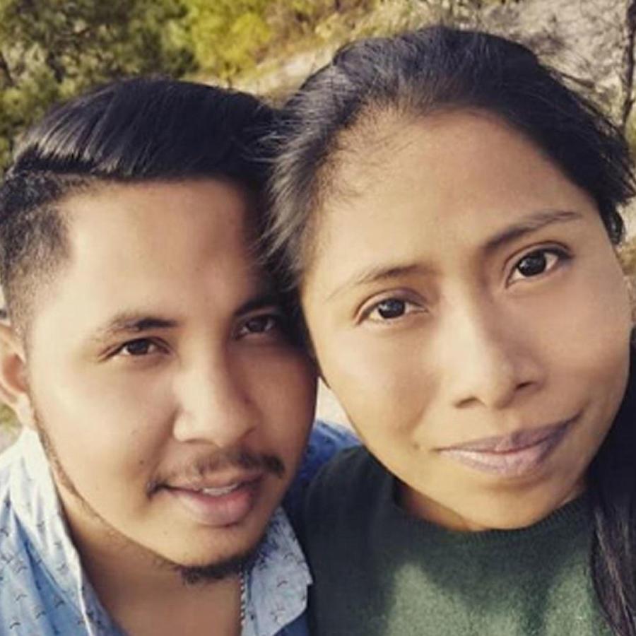 Yalitza Aparicio y Andre Montes Fuentes