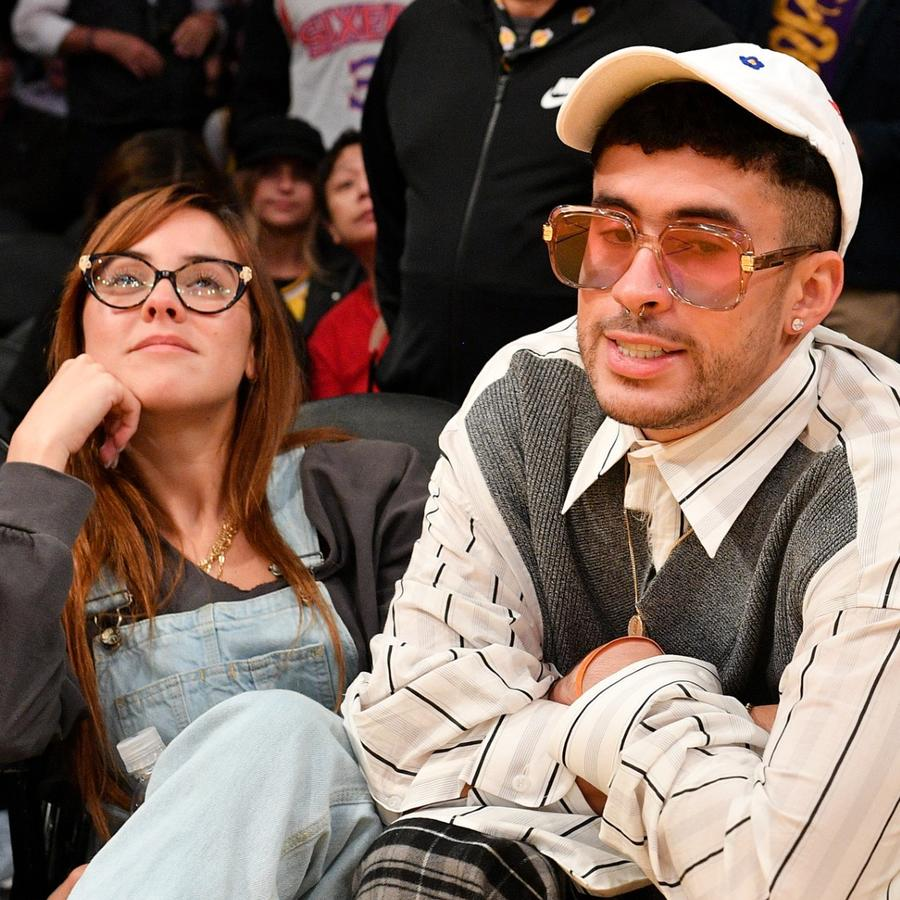 Bad Bunny y Gabriela Berlingeri