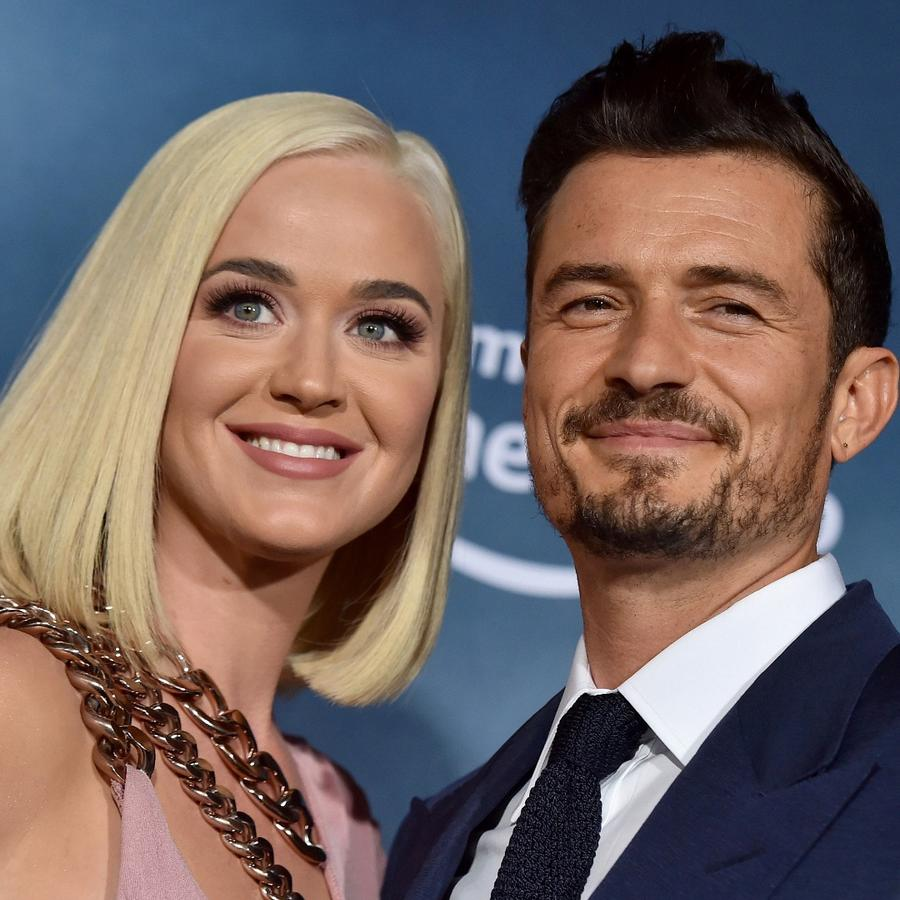 "Katy Perry y Orlando Bloom en la premiere de ""Carnival Row"" 2019"