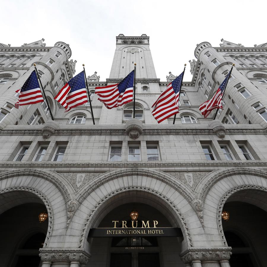 El Trump International Hotel en Washington.
