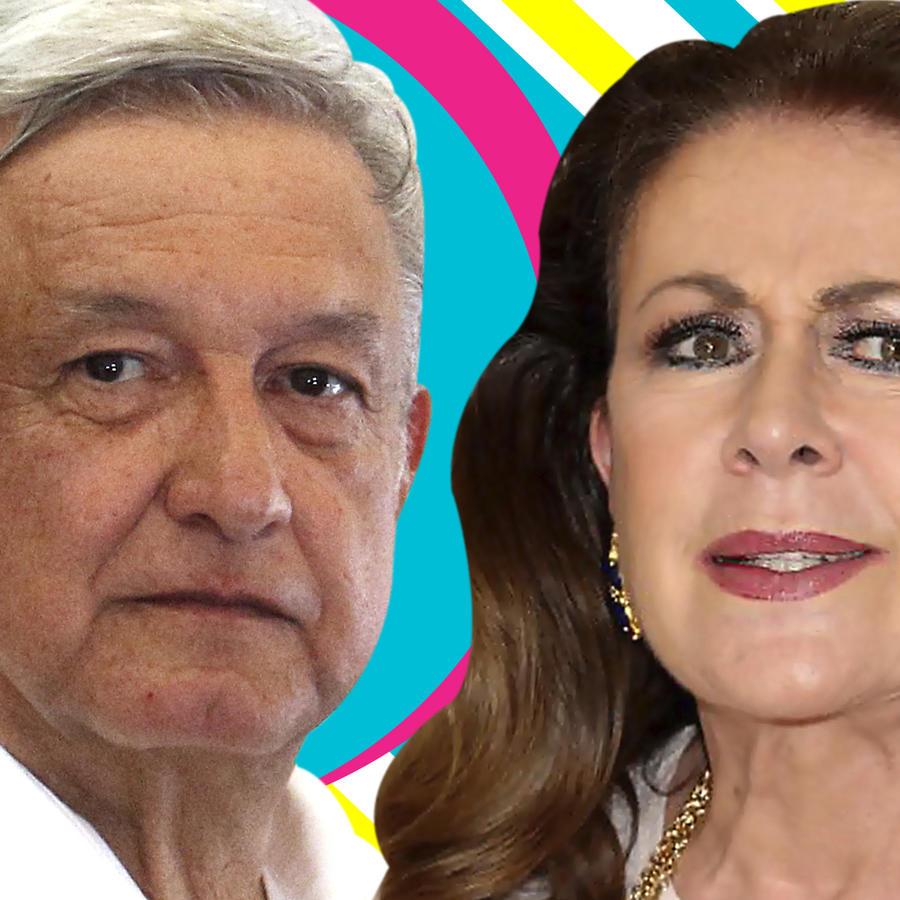 Laura Zapata vs AMLO terrorista