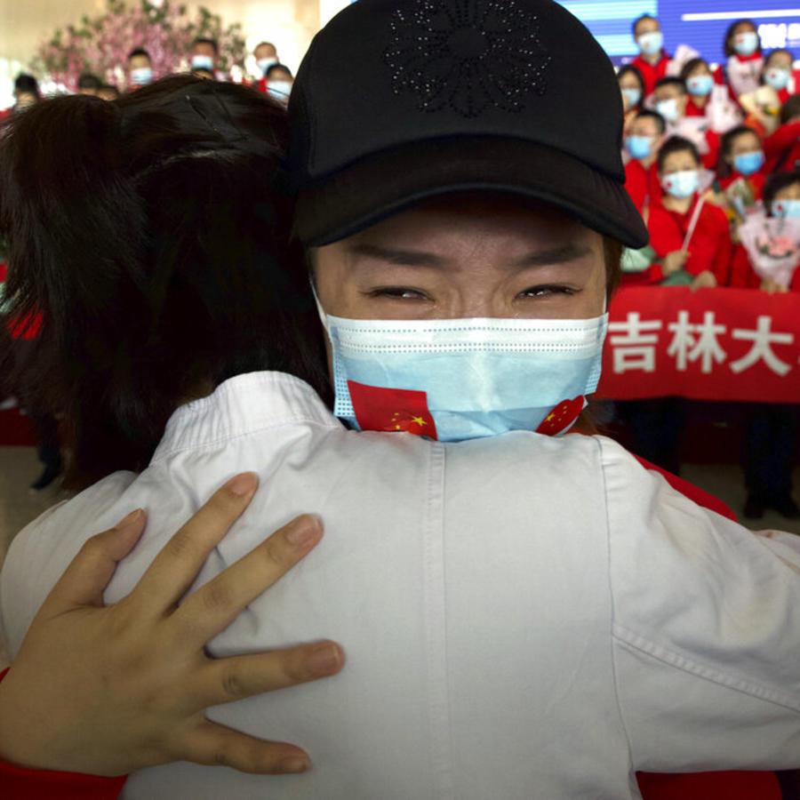 El cierre de Wuhan fue levantado el miércoles, tras 11 semanas.