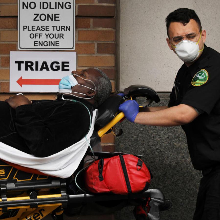 Nueva York, el estado epicentro del virus en Estados Unidos, ya reporta más casos de contagio que países como España o Italia.