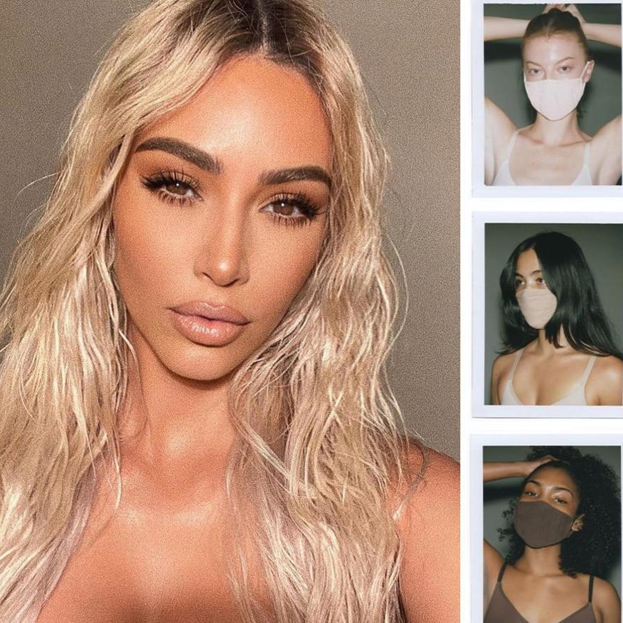 Kim Kardashian y su línea de mascarillas