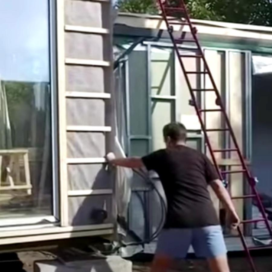 casas prefabricadas pandemia cuarentena