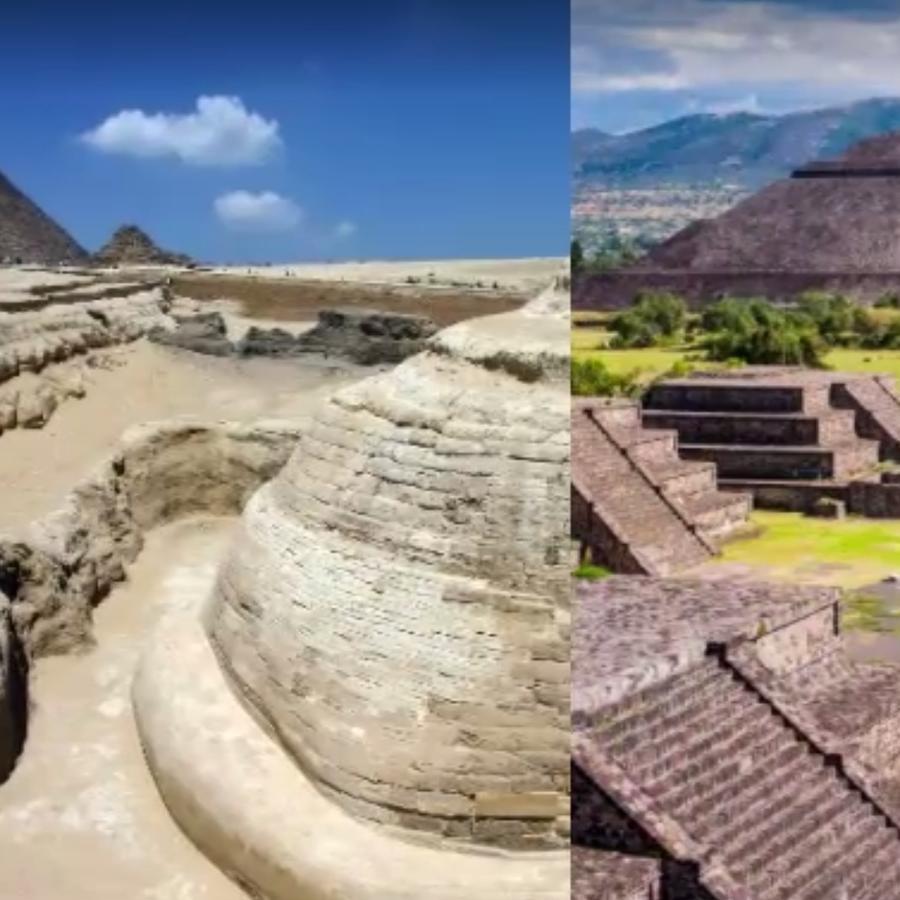 Pirámides Egipto y México