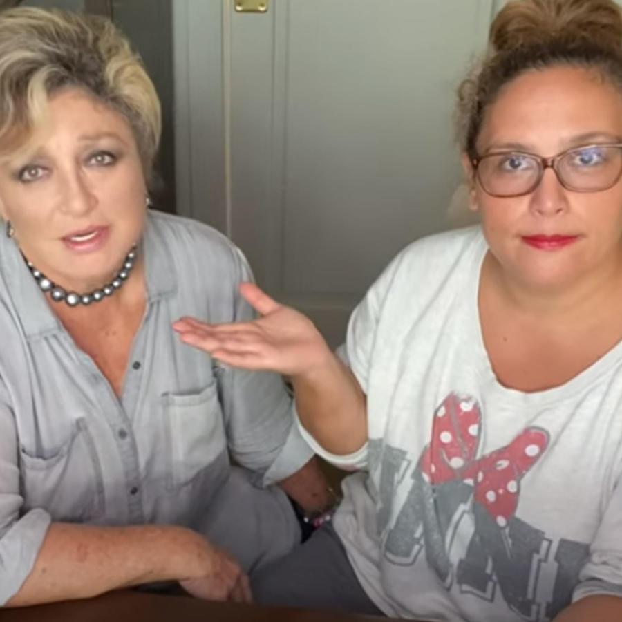 Angélica María y su hija, Angélica Vale, haciendo confesiones