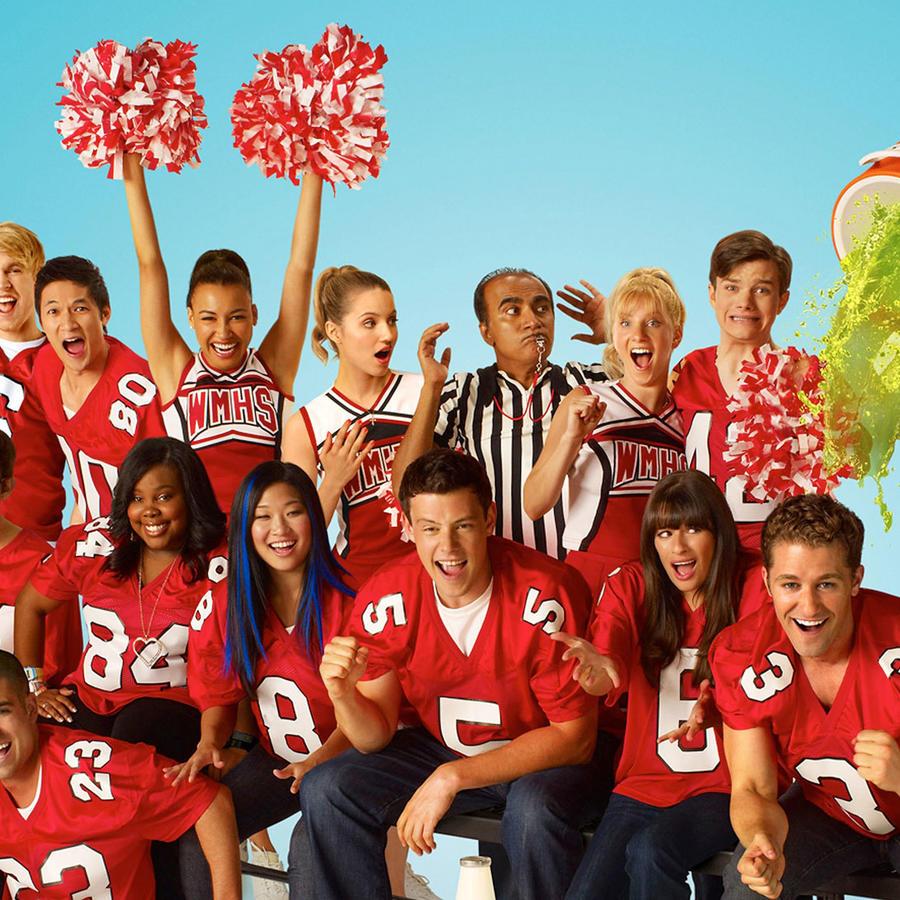 """El elenco de """"Glee"""""""