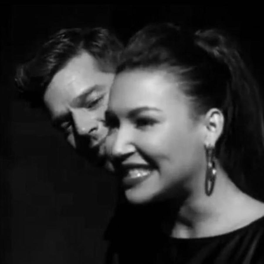 Naya Rivera y Ricky Martin