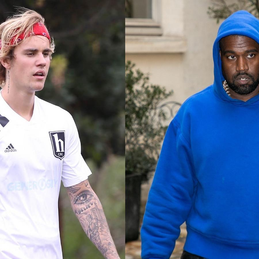 Justin Bieber y Kanye West