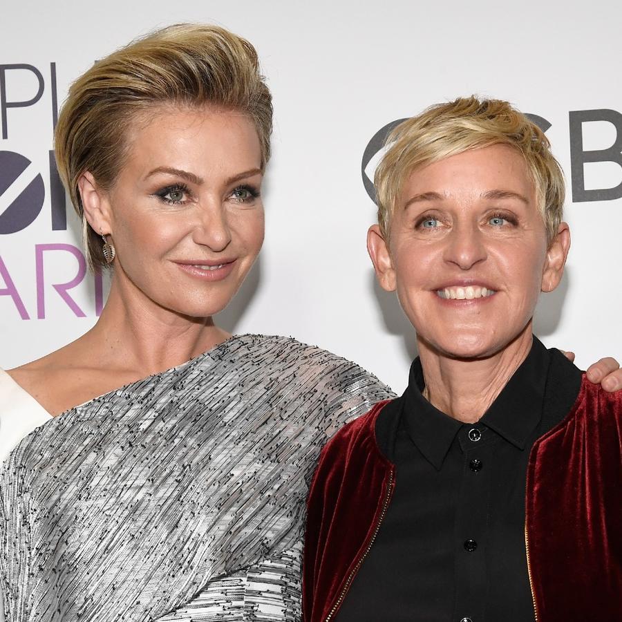 Ellen DeGeneres y Portia de Rossi