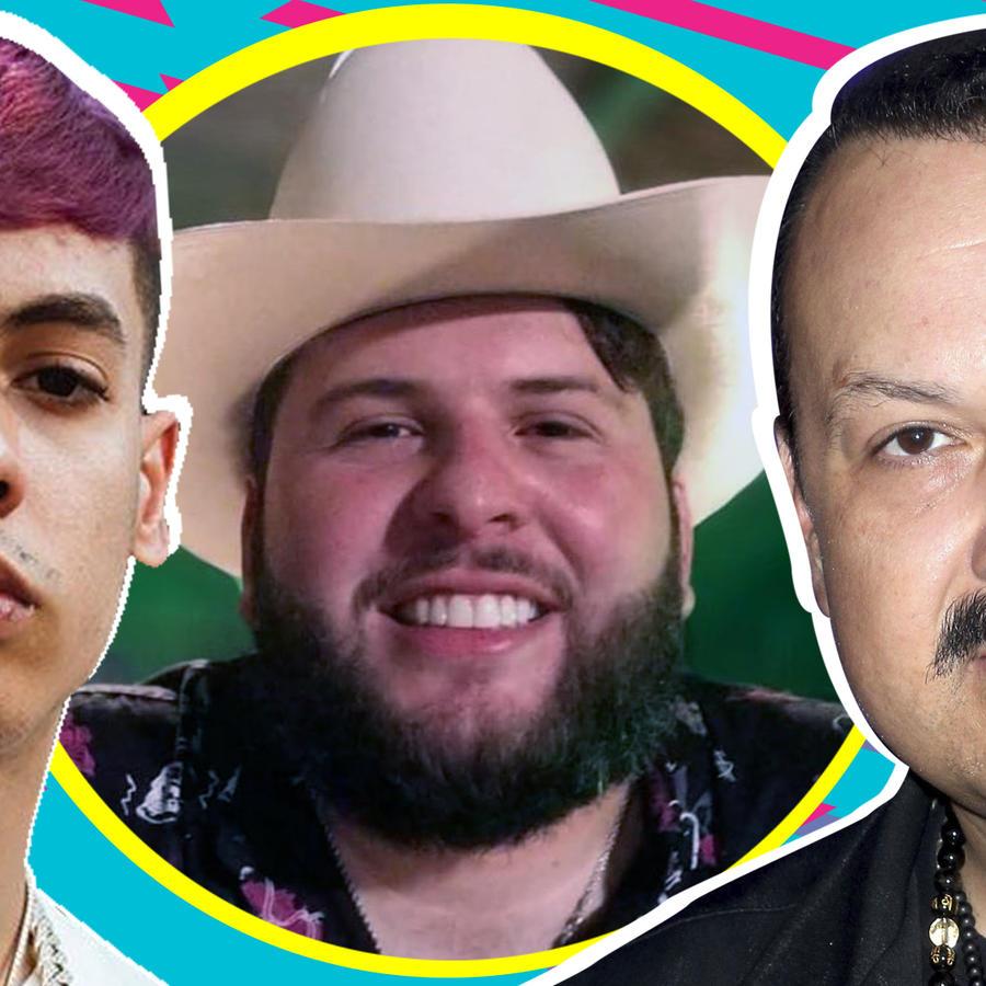El Fantasma, Pepe Aguilar, Natanael Cano