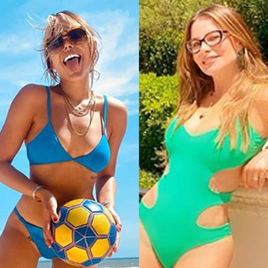 Danna Paola, Sofía Vergara, Thalía en bikinis