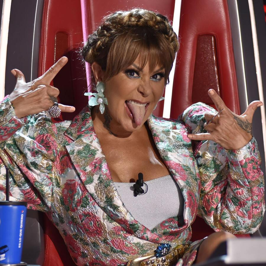 Alejandra Guzmán en la semifinal de La Voz US 2