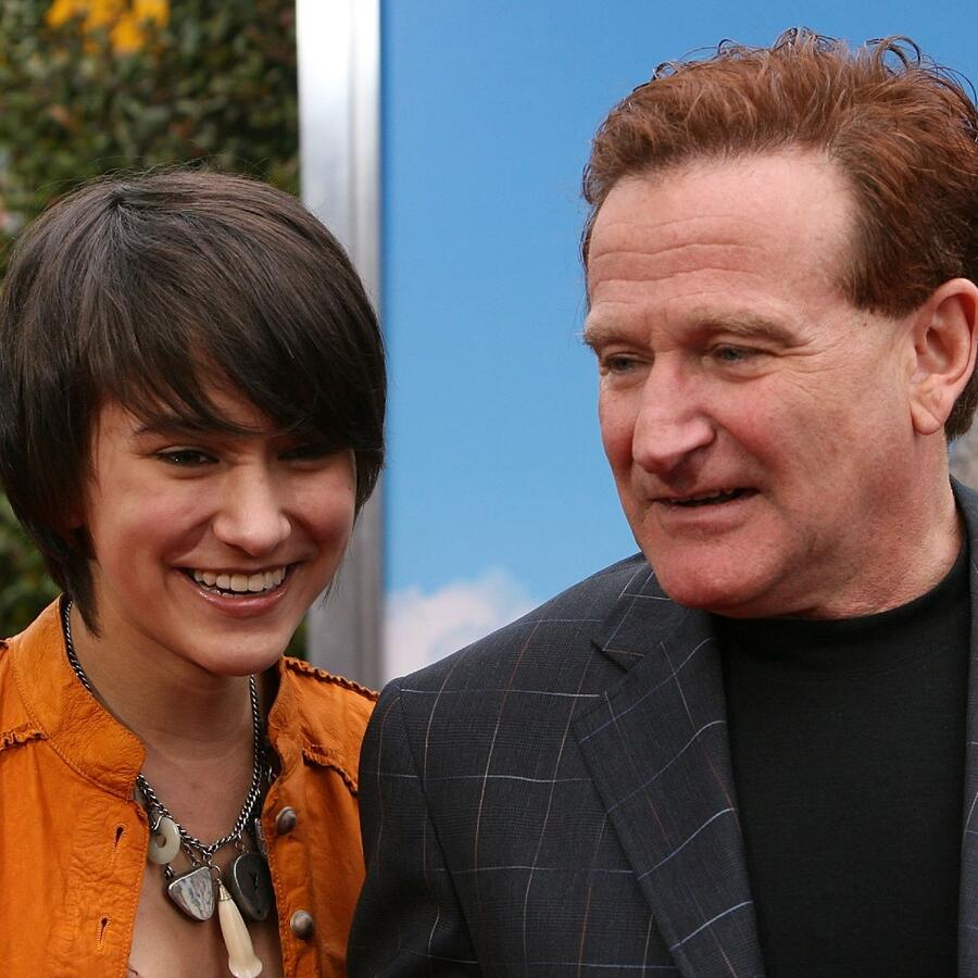 Robin Williams y Zelda Williams