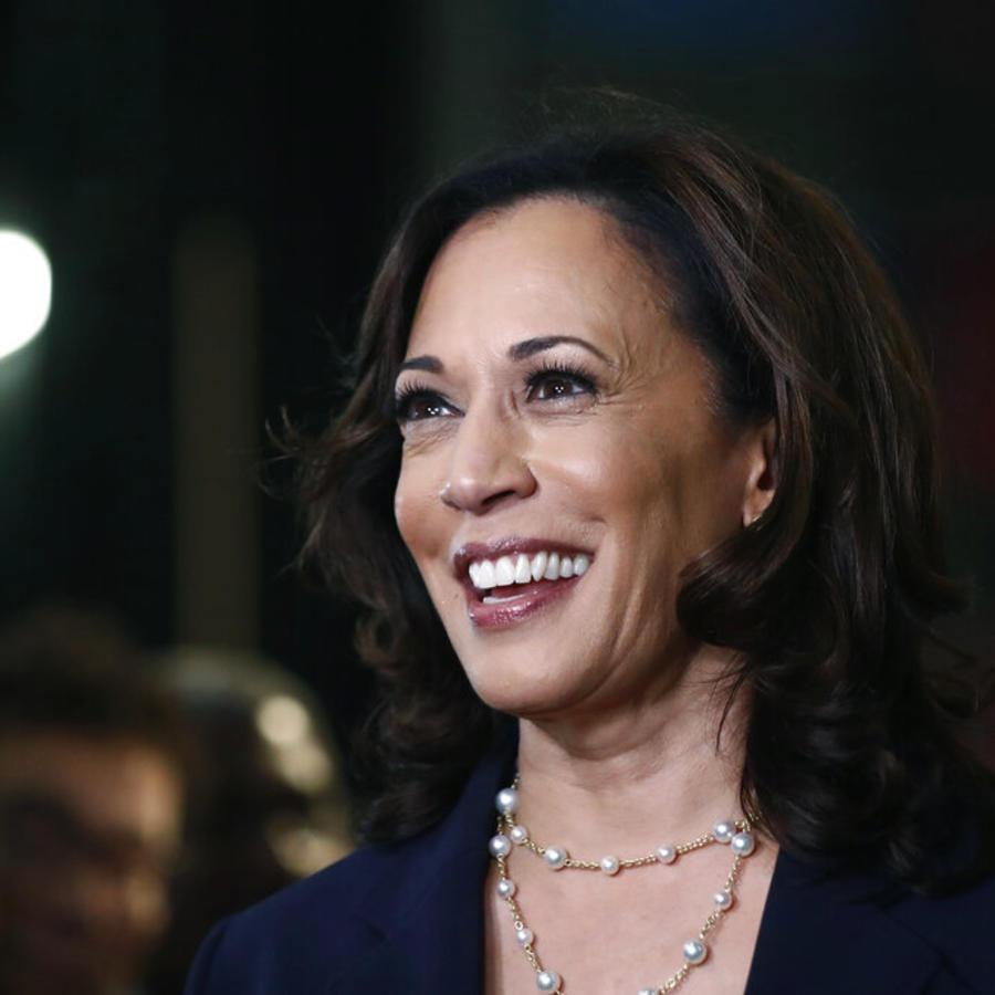 Kamala Harris, en una imagen de junio 2019 tomada durante un debate electoral en Miami.