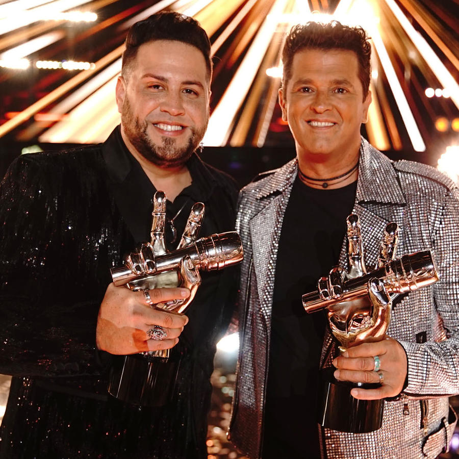 Sammy Colon y Carlos Vives son los ganadores de La Voz US 2