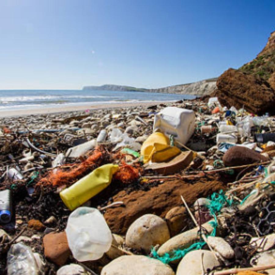 Basura en playas de Honduras