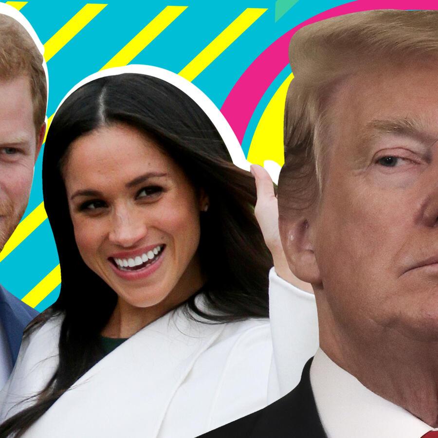 Donald Trump vs duques de Sussex