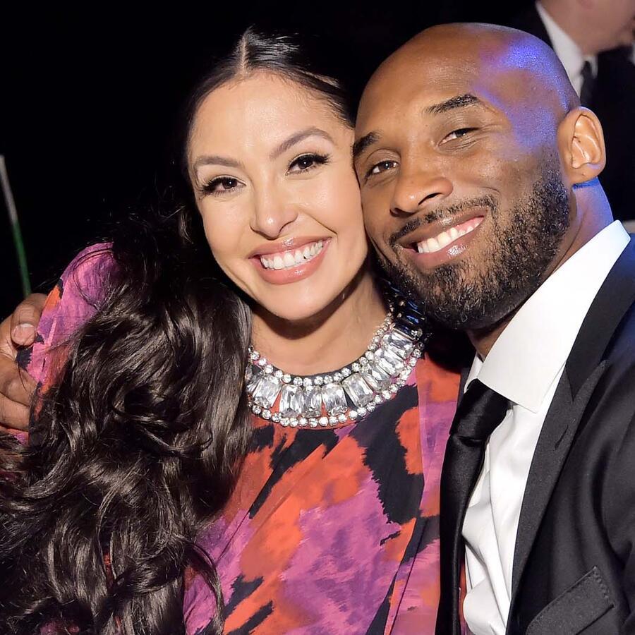 Vanessa junto a Kobe Bryant