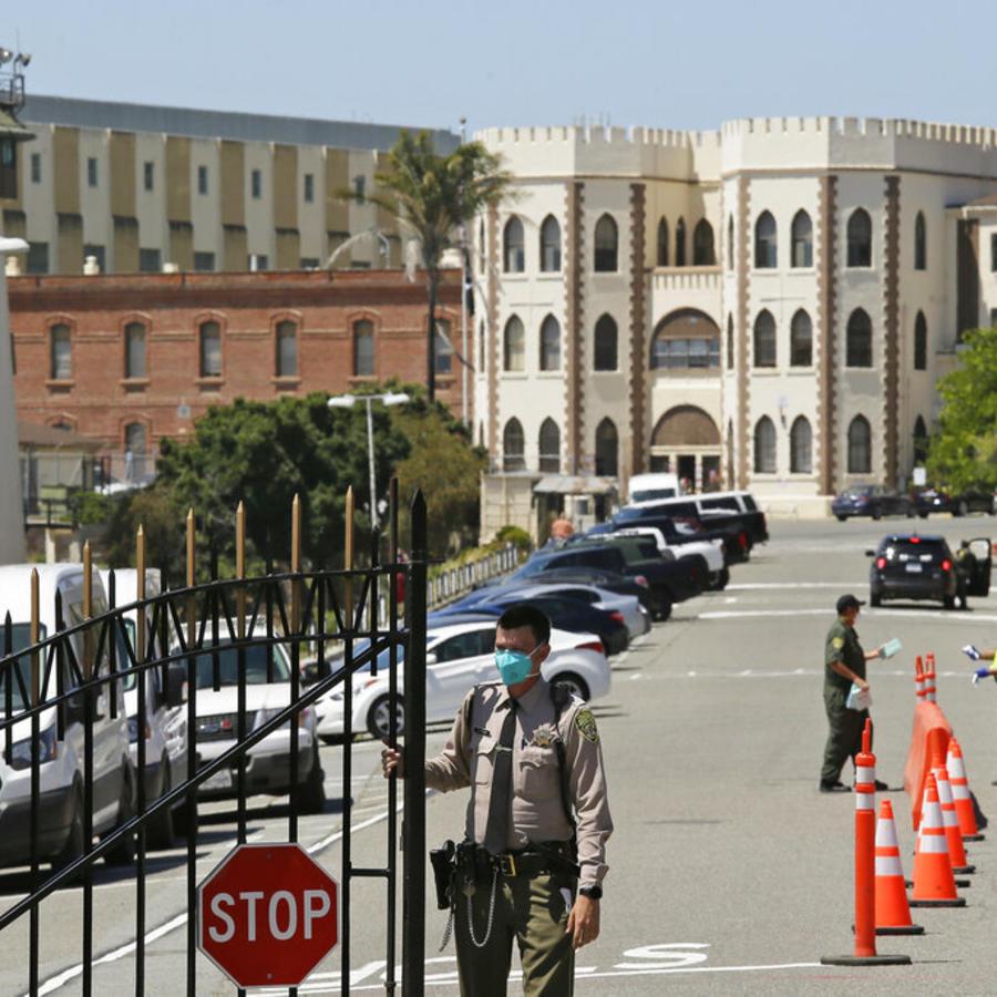 Prisión estatal de San Quentin, California.