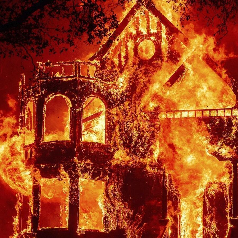 Incendio Glass, California.