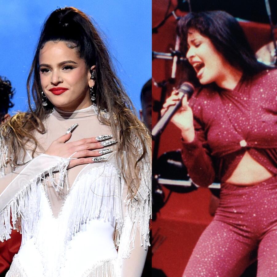 Rosalía, Selena Quintanilla y Juan Gabriel