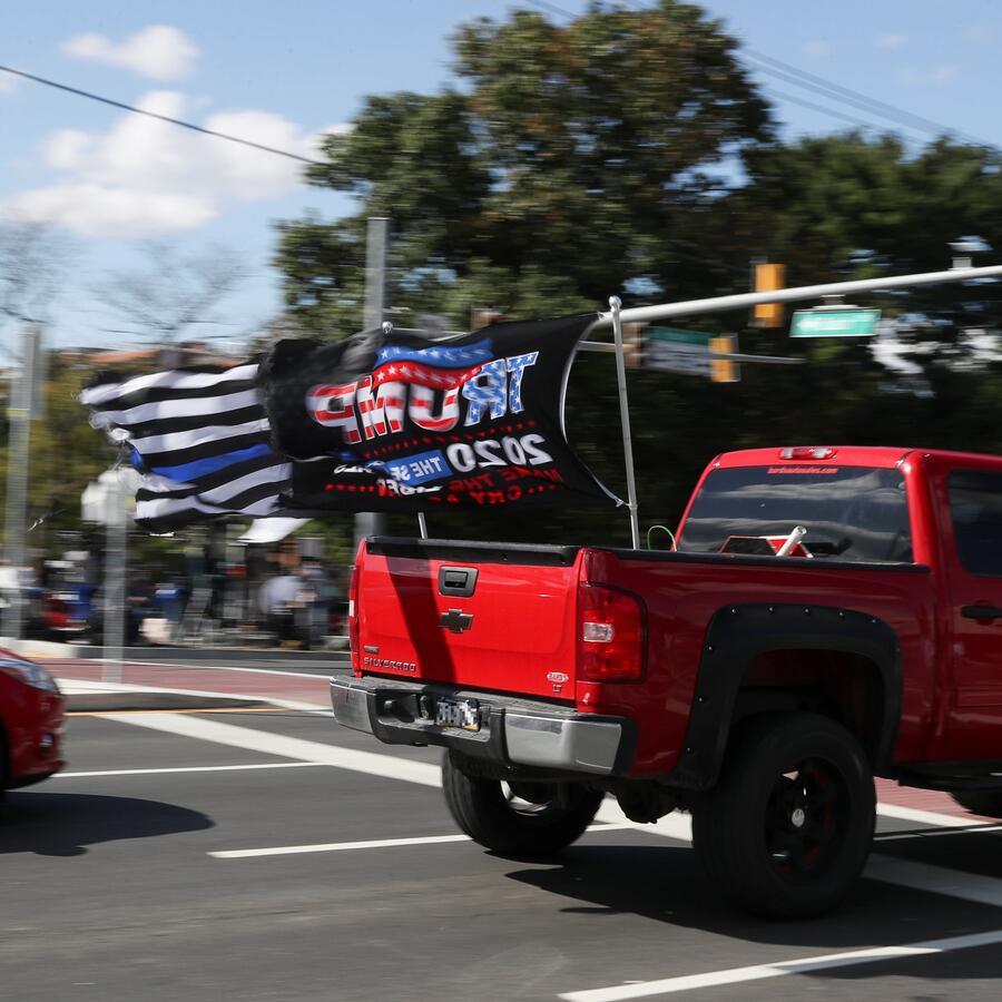 Partidarios de Trump desfilan en Bethesda, Maryland, el pasado 5 de octubre (imagen de archivo).