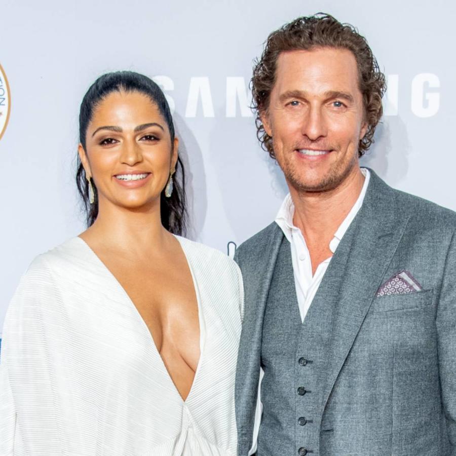 Camila Alves y Matthew McConaughey, 2018