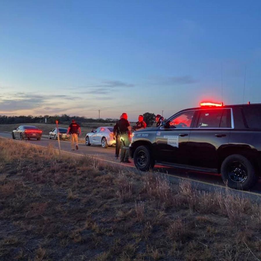 El sospechoso fue detenido por una patrulla de control en Oklahoma, cerca de la frontera con Texas.