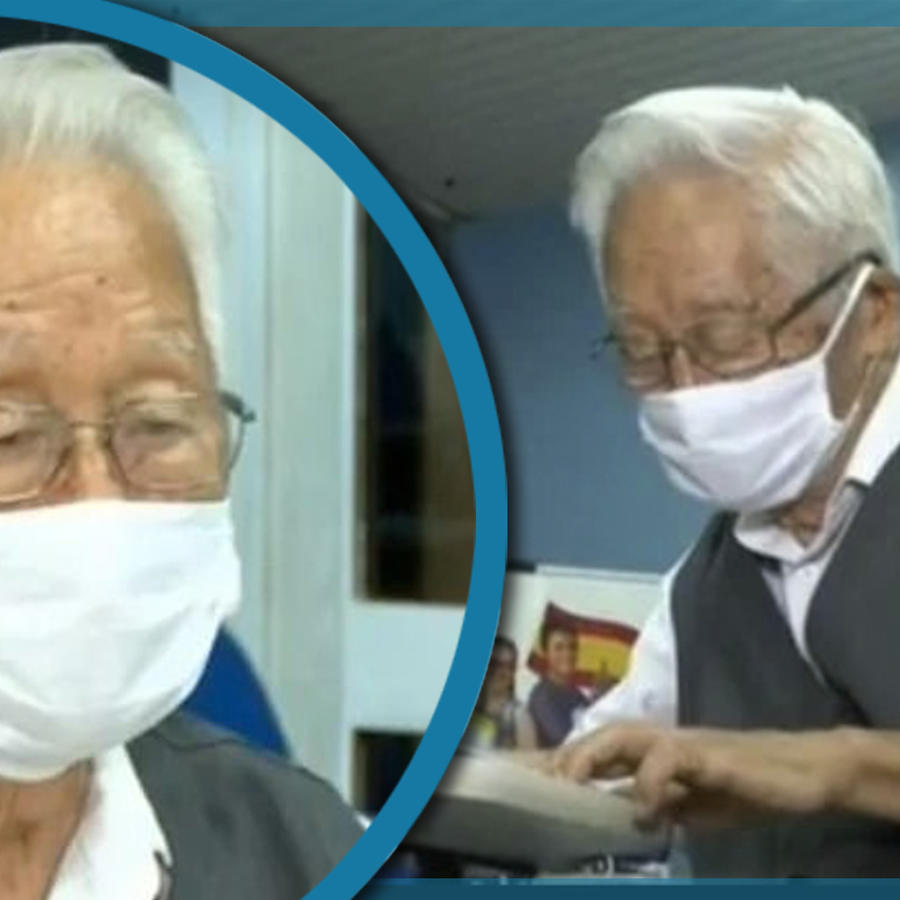 Abuelito estudia medicina