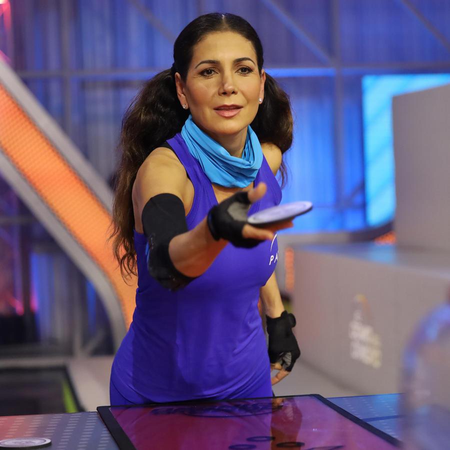 Patty Manterola en El Domo del Dinero