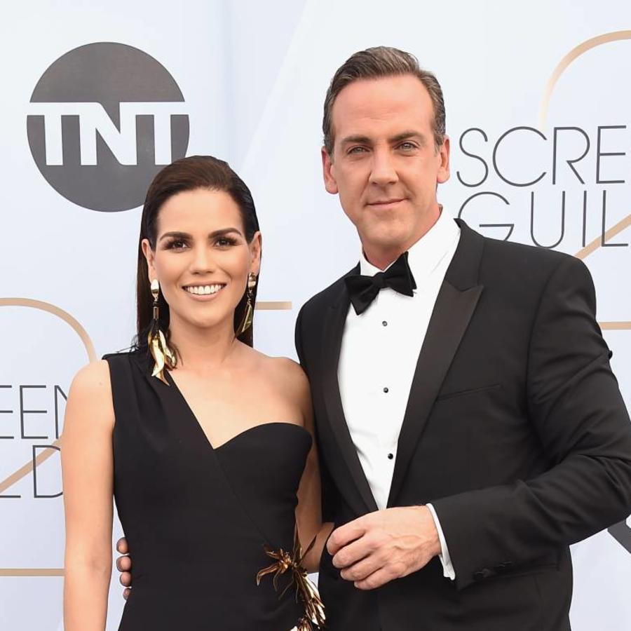 Karina Banda y Carlos Ponce en los SAG Awards 2019
