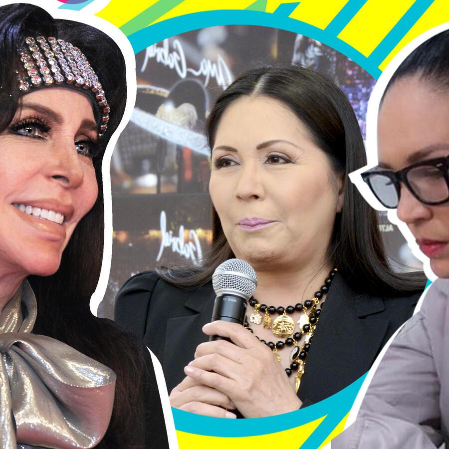 Yolanda Andrade, Verónica Castro, Ana Gabriel
